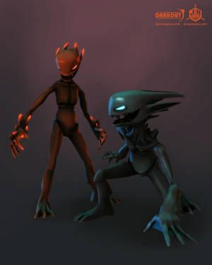 Darkout game art: Imps