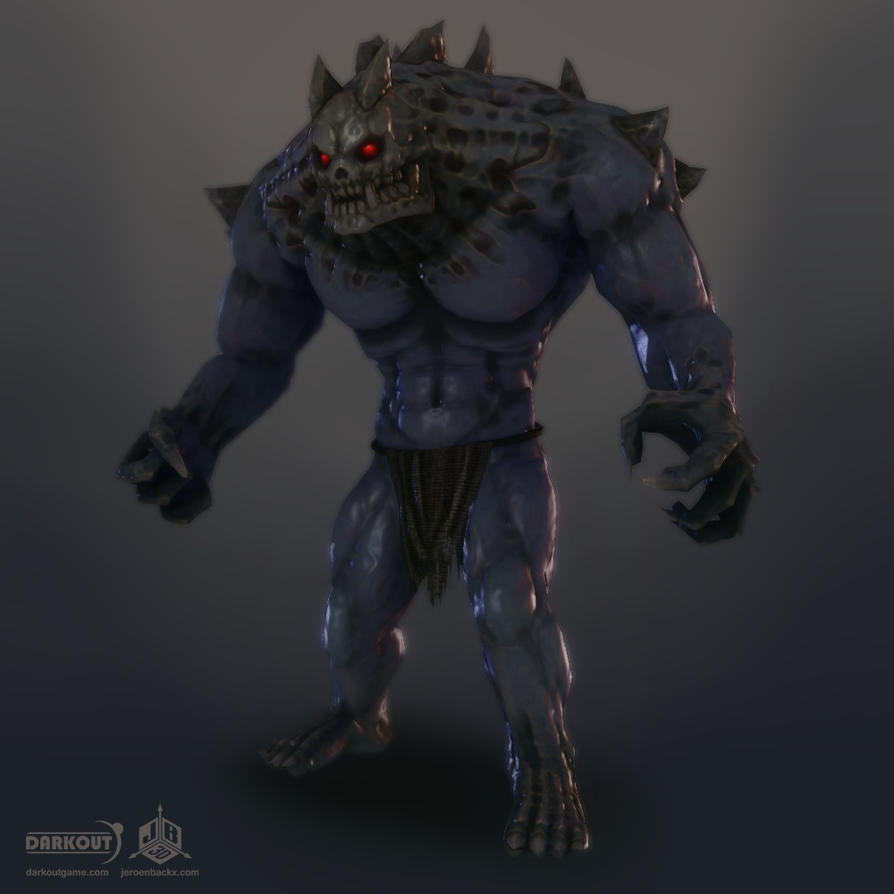 Darkout game art: Brute boss by JeroenBackx
