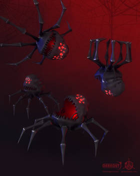 Darkout game art: Parasites