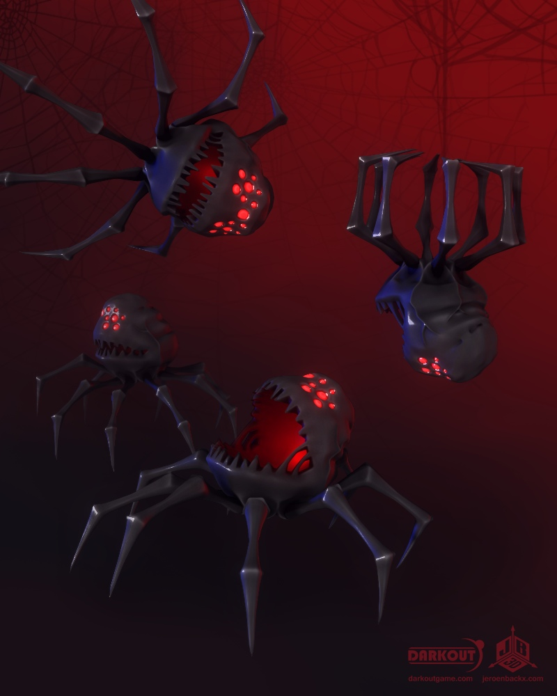 Darkout game art: Parasites by JeroenBackx