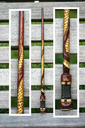 Dragon Scale Wand by McGovernArts