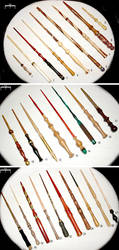 27 Wands by McGovernArts