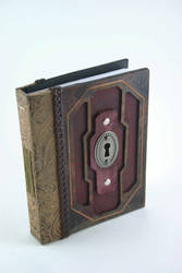 Small Leather Book by McGovernArts