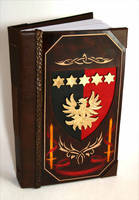 Coat of Arms Leather Book by McGovernArts
