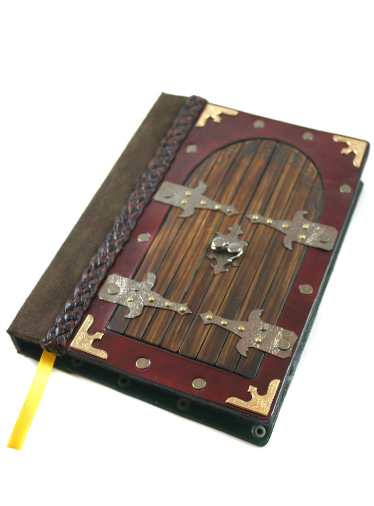 castle doors leather journal by artdragondream d3dizbg Sosyal Bilgiler Ödev Kapakları Örnekleri