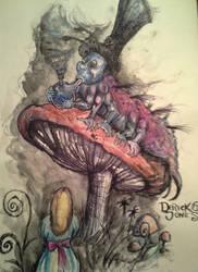 The Catepillar by butchRbill