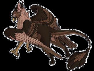 Spirit as a Gryphon by Spiritaelia
