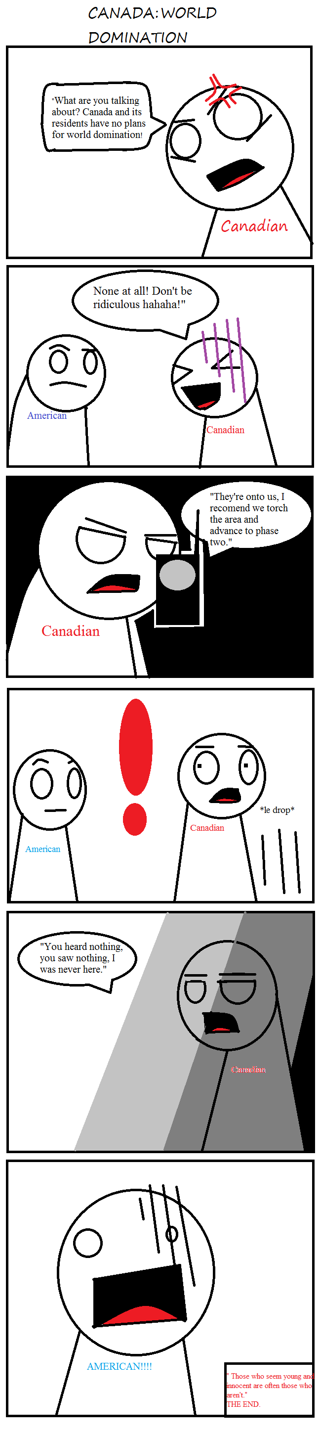 Canadian world domination