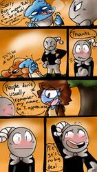 Glitchybomb Comic Commission [4/4] by vordella
