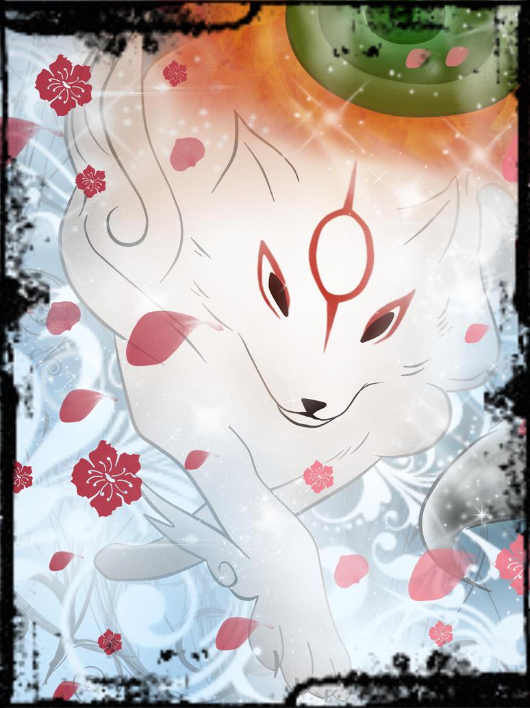 Okami Amaterasu by xxNisTheCookiexx
