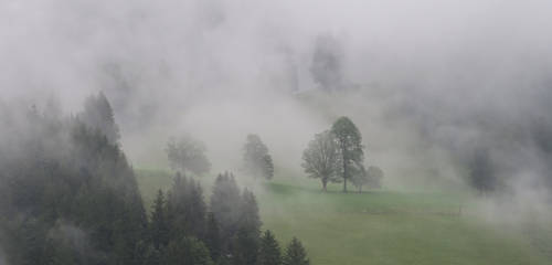 'Tis the mist rising over the plain by ReaderByLamplight