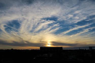 Balard Sunset XIV - Chimera by ReaderByLamplight