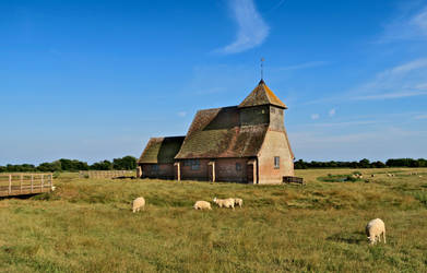 Pasture and spirituality (Churches of the Marsh I) by ReaderByLamplight