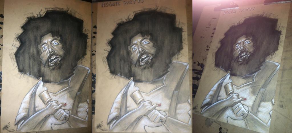 Reggie Watts by tomhanch