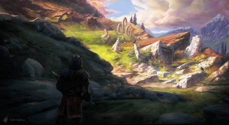 Environment Concept for Skyblivion