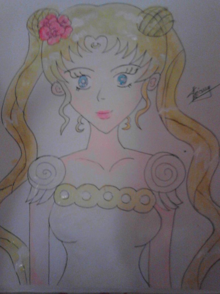 Sailor Moon by yuukihanabusa