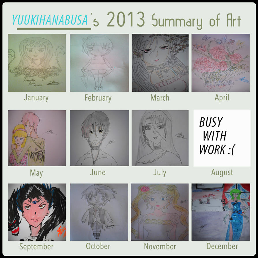 Art Summary 2013 by yuukihanabusa