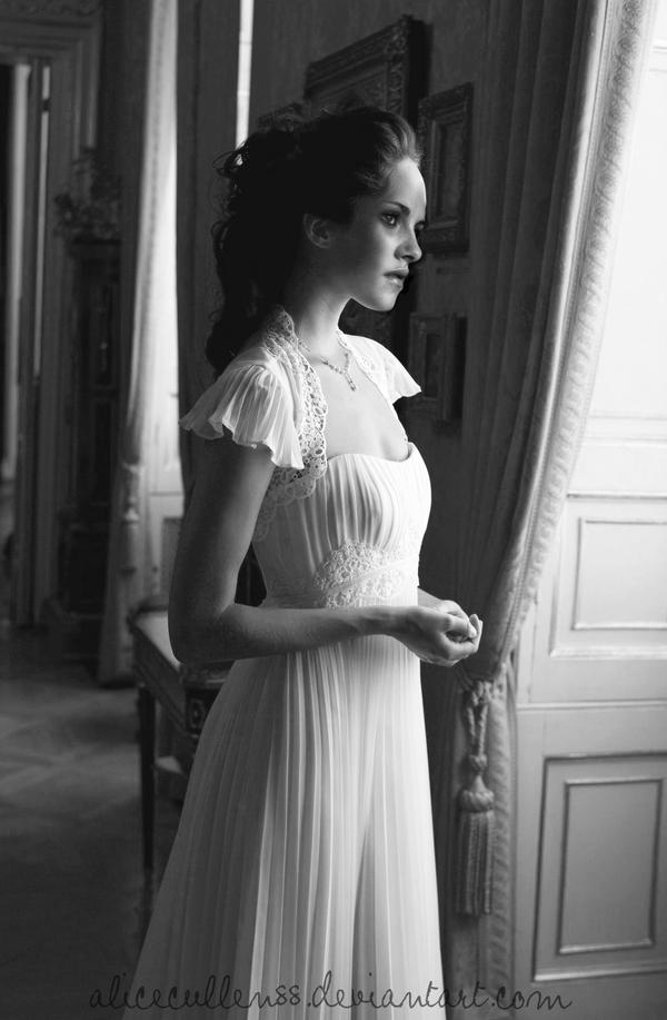 Bella Swan Wedding Dress Manip by AliceCullen88