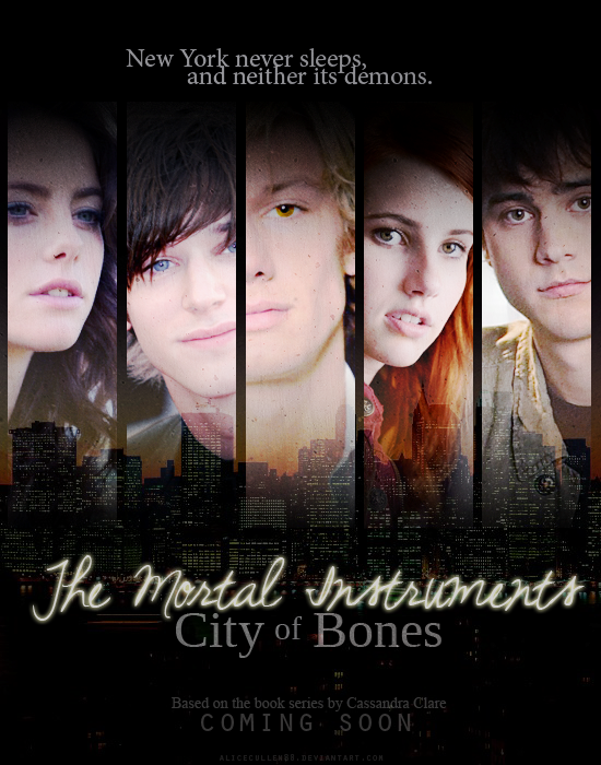 TMI: City of Bones poster by AliceCullen88