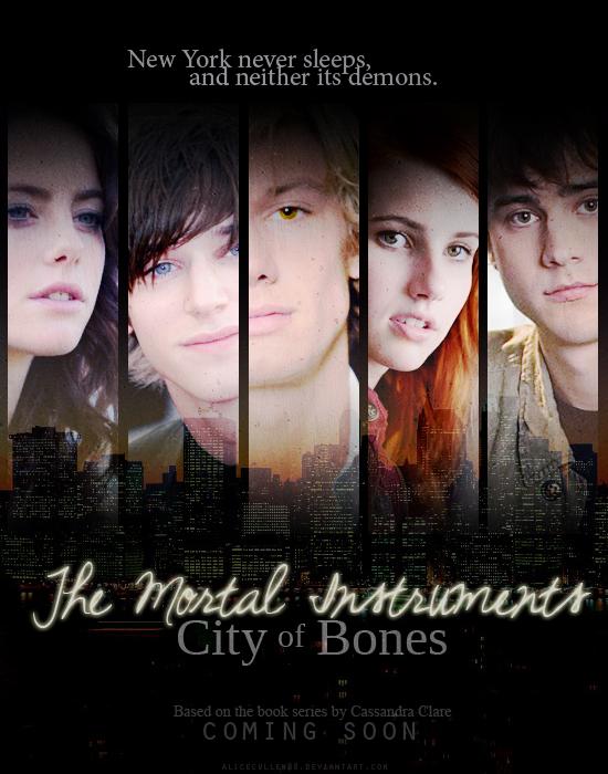 TMI: City of Bones poster by AliceCullen88