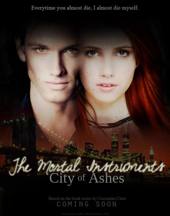 TMI: City of Ashes poster by AliceCullen88 on DeviantArt