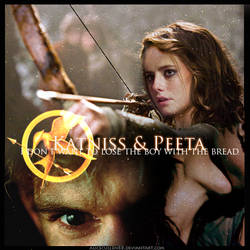 Hunger Games: Katniss Peeta by AliceCullen88