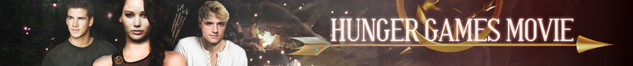 Hunger Games Movie Banner by AliceCullen88