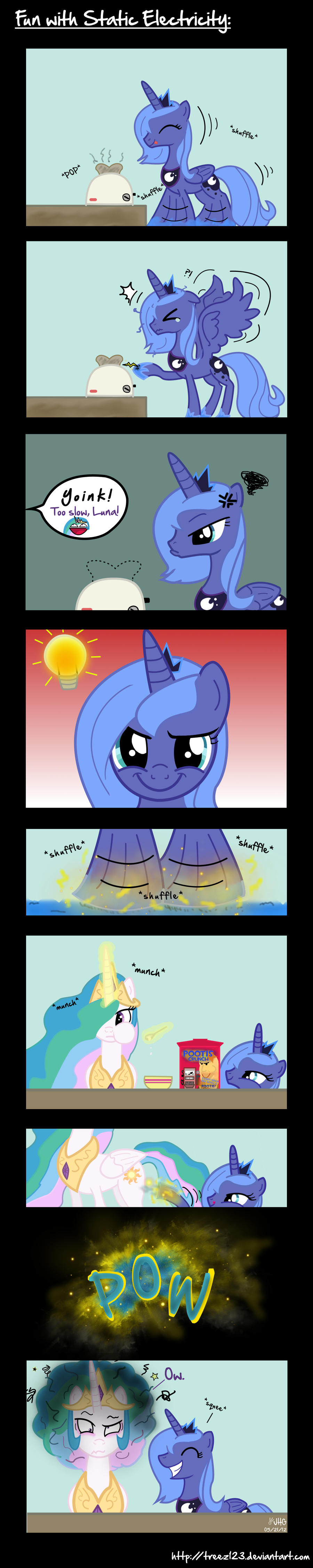 Fun with Static Electricity by treez123