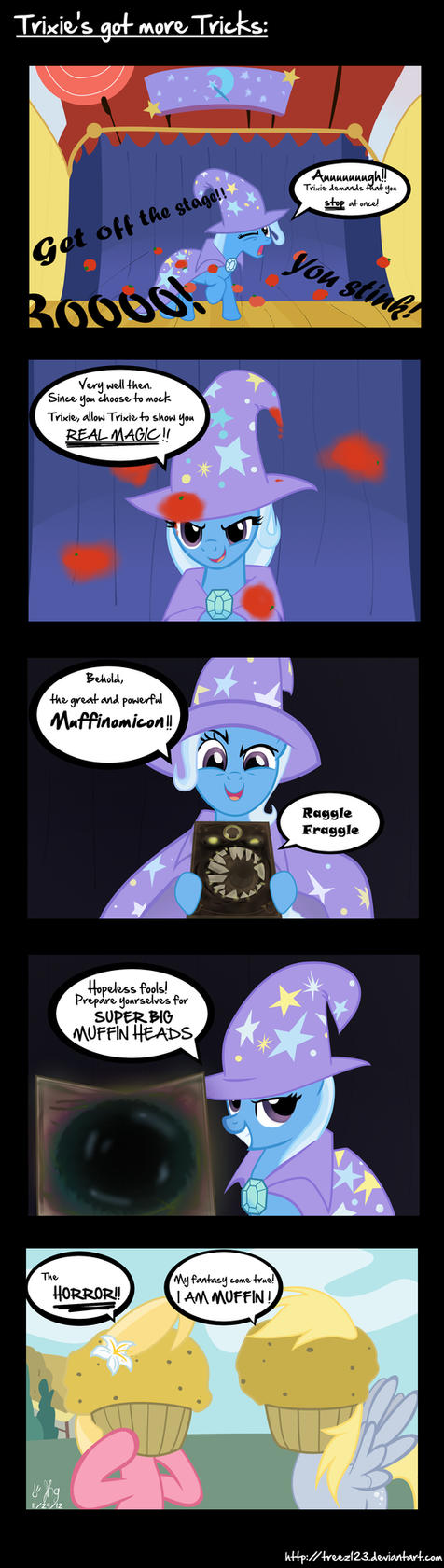 Trixie's got more Tricks by treez123