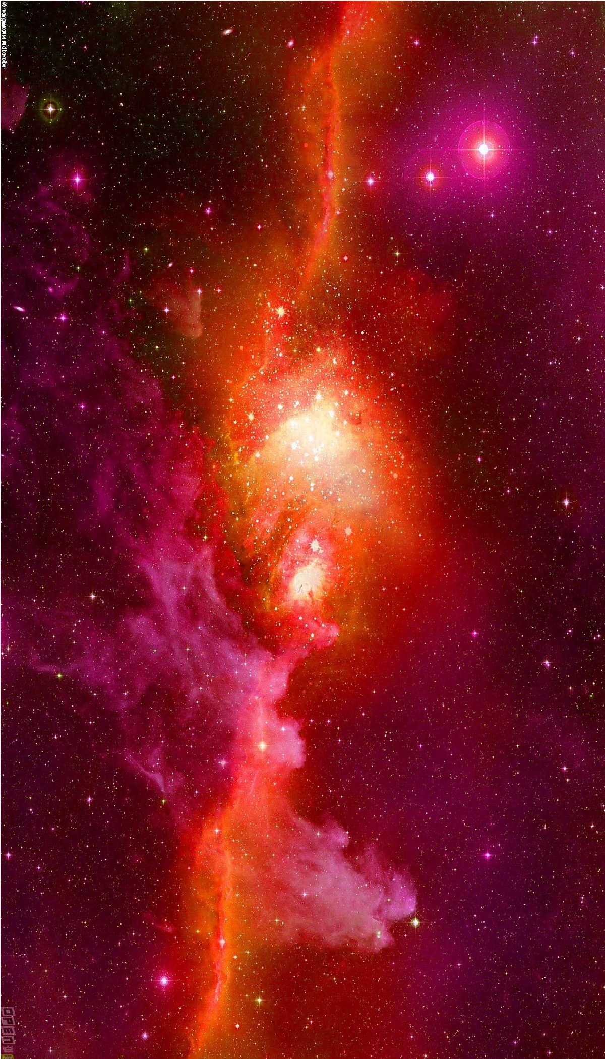 red space galaxy - photo #20
