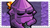 Crystal Nuclear Throne Stamp (A) by lonely-eel