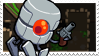 Robot Nuclear Throne Stamp (A) by lonely-eel