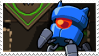 Robot Nuclear Throne Stamp (B) by lonely-eel