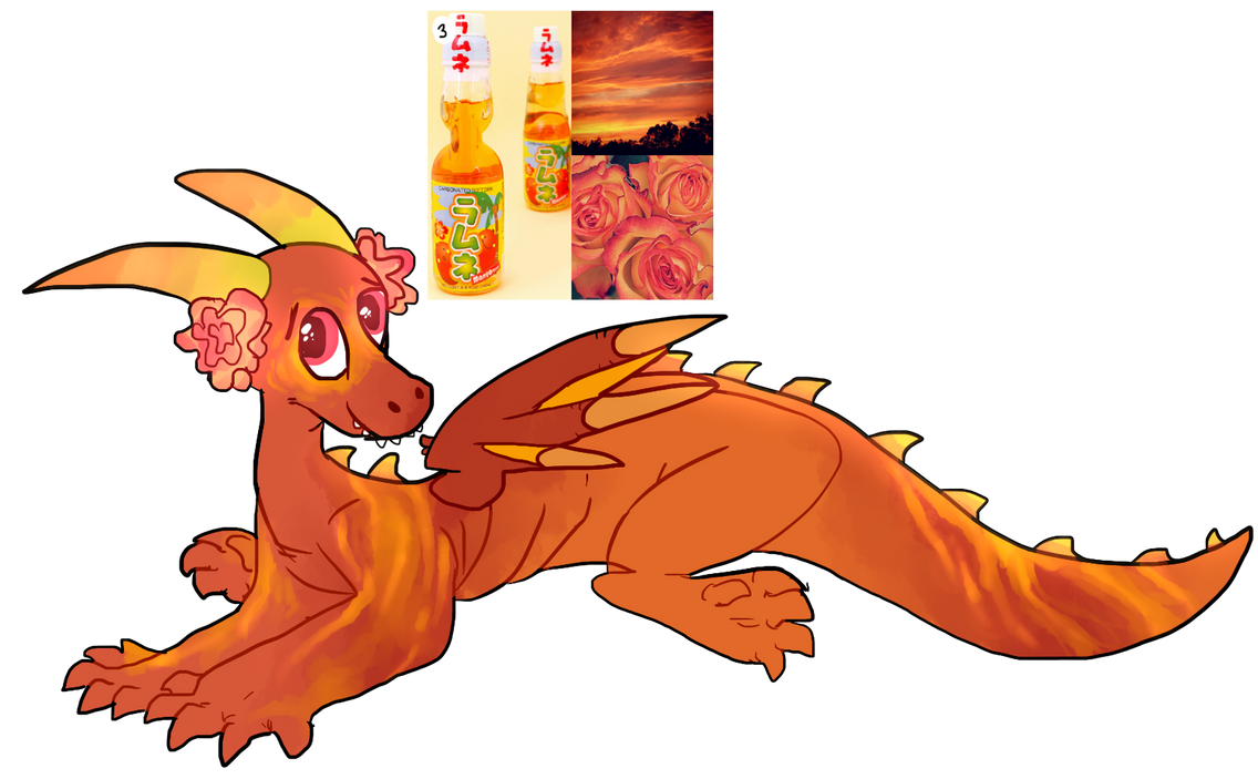 Mango Ramune - Aesthetic Design by lonely-eel