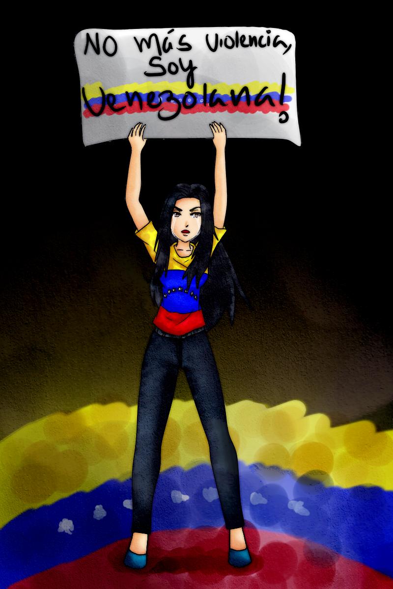 Pray For Venezuela by Koyuuki-Sama