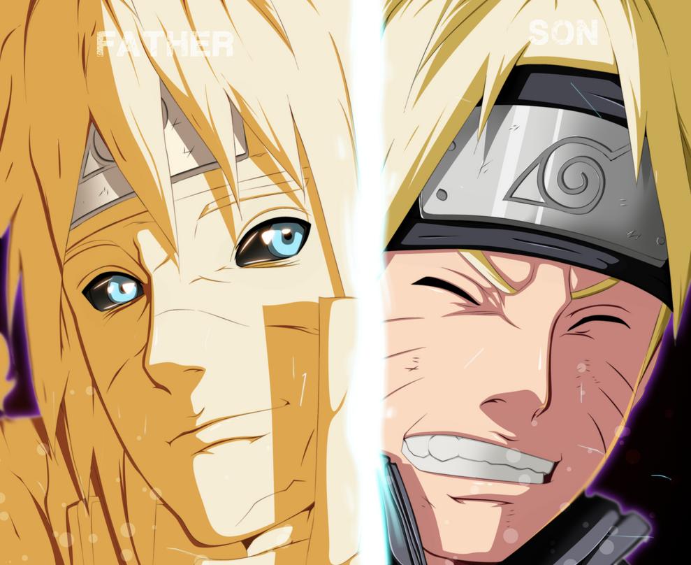 Naruto rencontre son père