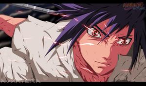 sasuke fanart color