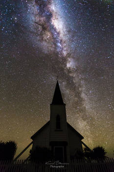 A church lost in New Zealand