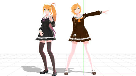 Anon and Kano Uniform (WIP) by anitaabc
