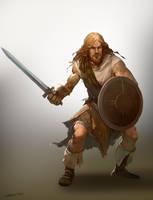 Crude Warrior by Goshun