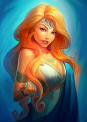 Helen the Beauty by Goshun
