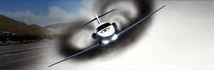 Pilatus PC-24  Vortex Swirl 1