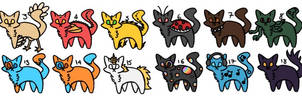 [OPEN] 20 Point Cat Adopts!