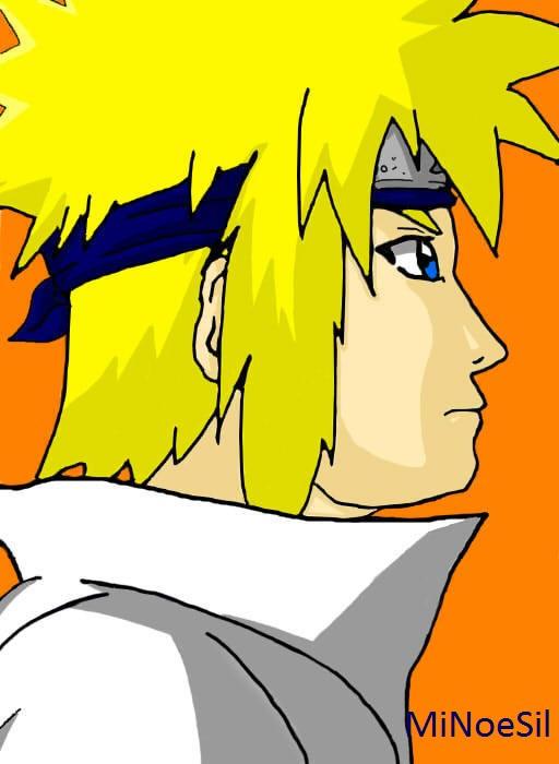 Naruto - Minato (Cuarto Hokage) by MiNoeSil on DeviantArt