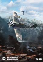 FW 190 Illustratior by Crazymann11