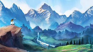 Journey to mountains by Crazymann11