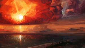 Sunset by Crazymann11