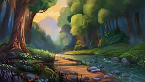River final illustration