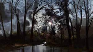 Swamps sketch