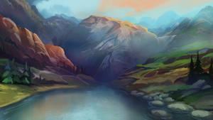 Lakeside Illustration Day version